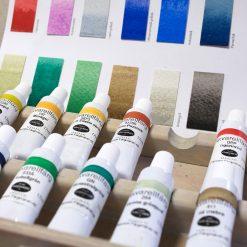 Akvarellfärg för konstmåleri