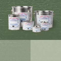 Linoljefärg - gröna kulörer