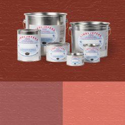 Linoljefärg - röda kulörer