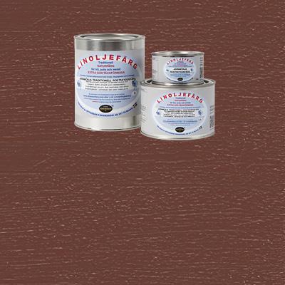 Linoljefärg - rostskydd